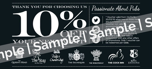 10% voucher - sample only