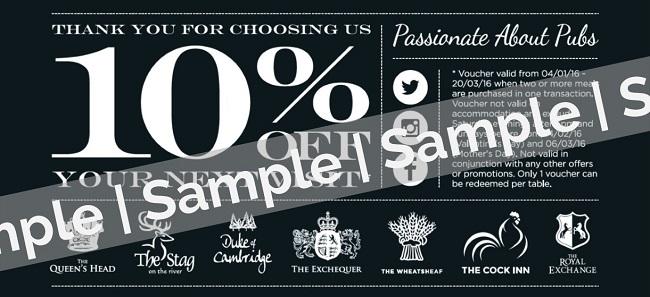 10% voucher - sample only