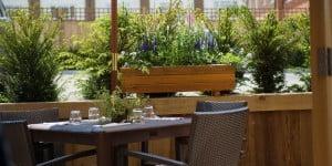 Al Fresco dining on terrace
