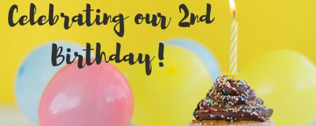 Happy 2nd Birthday to us!