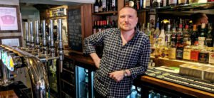 Nat Thatcher, Pub Manager of all new The Temple Inn, Liss