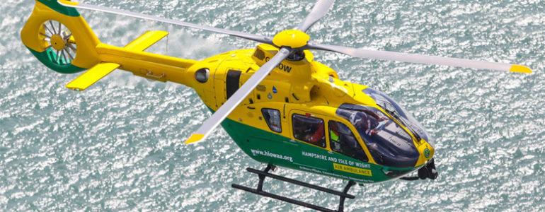 Raising £10,000 for our local air ambulance