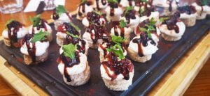 Goat's Cheese Canapes